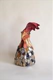 Sassy - moi? by Dianne Preston, Sculpture, mixed media